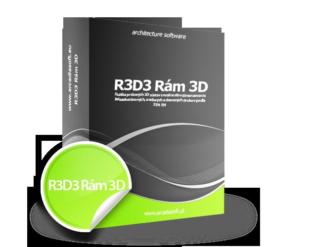 Box R3D3 Rám 3D
